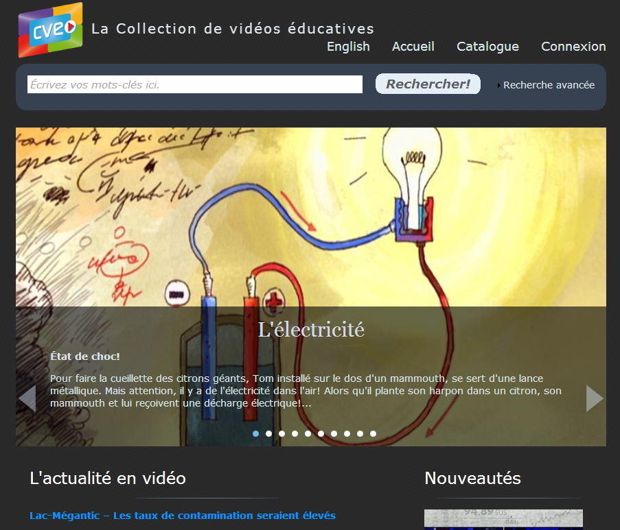 ressources  u00c9ducatives num u00e9riques   collection de vid u00e9os